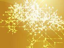 Flujo de datos técnico Imagen de archivo libre de regalías