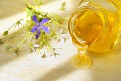 Flujo de la miel Foto de archivo