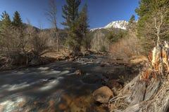 Flujo de la montaña Fotos de archivo libres de regalías