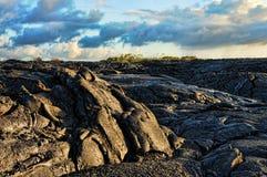 Flujo de lava foto de archivo