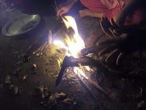 flujo del fuego Imagen de archivo libre de regalías