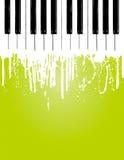 Flujo del piano Imagen de archivo