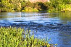 Flujo del río Foto de archivo libre de regalías