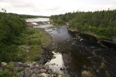 Flujo del río Imagen de archivo