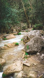 Flujo del río Foto de archivo