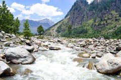 Flujo en la India Foto de archivo