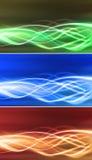 Flujos eléctricos de la conectividad fijados ilustración del vector
