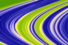 Flujos y vórtices del extracto Ilustración del Vector