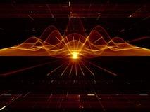 Fluktuacje energia Zdjęcie Stock
