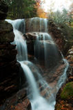 The Flume. A destination that is a must see in the Franconia State Park in New Hampshire stock photos