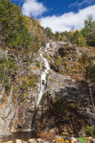 Flume Cascade, Crawford Notch State Park Royalty Free Stock Image