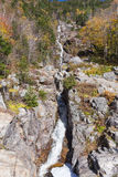 Flume Cascade, Crawford Notch State Park Stock Image