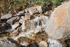 Flume Cascade, Crawford Notch State Park Royalty Free Stock Photography