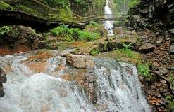 Flume Gorge Stock Photo