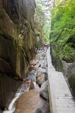 Franconia Notch State Park. Flume gorge in Franconia Notch State Park Royalty Free Stock Image