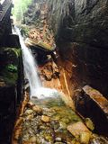 Flume Gorge Royalty Free Stock Photography