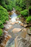 Flume Gorge Royalty Free Stock Images