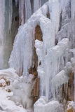 Flume Icicles Stock Photography