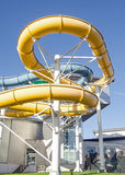 Flumes, Basingstoke Aquadrome Stock Photography