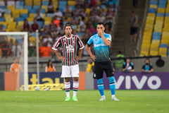 Fluminense x格雷米奥队 库存图片