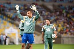 Fluminense x格雷米奥队 免版税库存图片