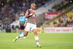 Fluminense x Gremio Royaltyfri Bild