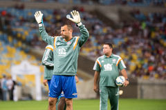 Fluminense x Gremio Royalty Free Stock Images