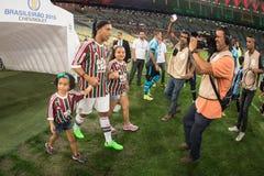 Fluminense x Gremio Stock Photos