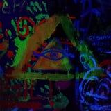 Fluo art stock photos