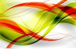 Fluo Red Green Royalty Free Stock Images