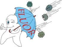 προστασία fluor στοκ φωτογραφία με δικαίωμα ελεύθερης χρήσης