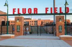 Fluor Field Greenville South Carolina Stock Image