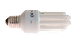 Fluorescencyjna oszczędzanie lampa Obraz Stock