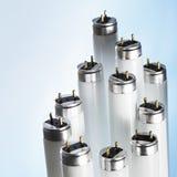 fluorescencyjne tubki Zdjęcia Stock