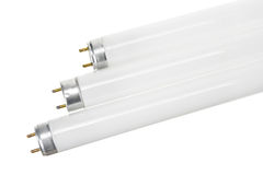 fluorescencyjne tubki Fotografia Stock