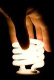 fluorescencyjny żarówki światło Fotografia Royalty Free