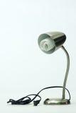 Fluorescent Bulb In Desk Lamp Stock Image