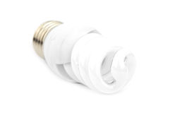 Fluorescent bulb Stock Photo