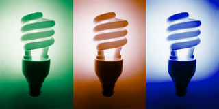 Fluorescent Bulbs Stock Image