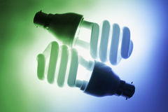 Fluorescent Bulbs Royalty Free Stock Image