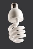 Fluorescent energy saving lamp Stock Photos