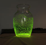 Fluorescent jar Stock Photo