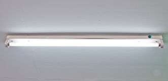 Fluorescent lamp Stock Photography