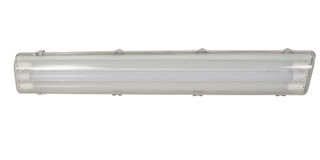Fluorescent lamp with batten fitting Stock Photo