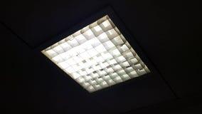 Fluorescent lamp light is blinking