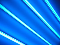 Fluorescent lamps, abstract background Royalty Free Stock Photos