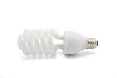 Fluorescent lamps  on white background Stock Image