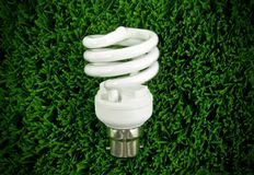 Fluorescent Light Bulb Royalty Free Stock Photos