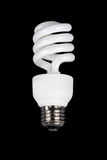 Fluorescent light bulb Stock Image
