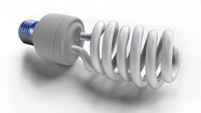 Fluorescent light bulb Stock Images